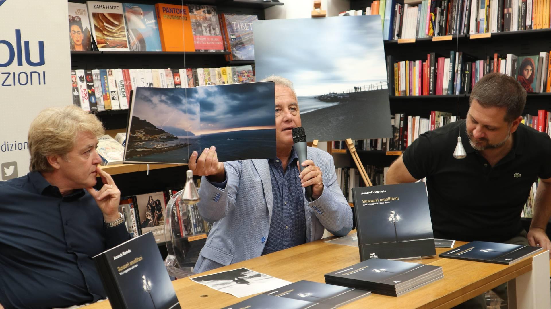 """Presentazione libro fotografico La Feltrinelli """"Sussurri Amalfitani"""""""